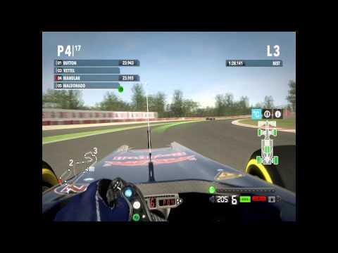F1 2012 Career - Catalunya Qualify onboard