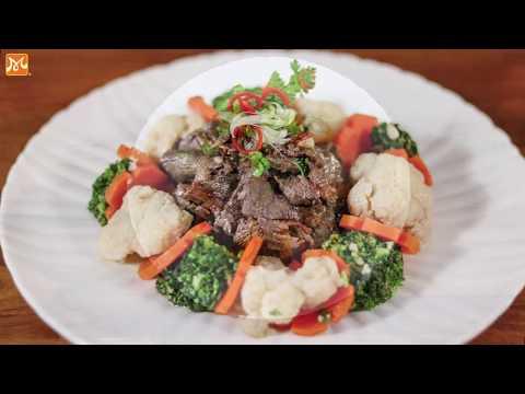 Cách làm thịt bò xào bông cải ngon dễ làm - Học nấu ăn gia đình