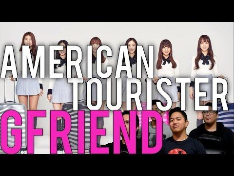 GFRIEND X AMERICAN TOURISTER | 파도 (Wave) MV Reaction [4LadsReact]