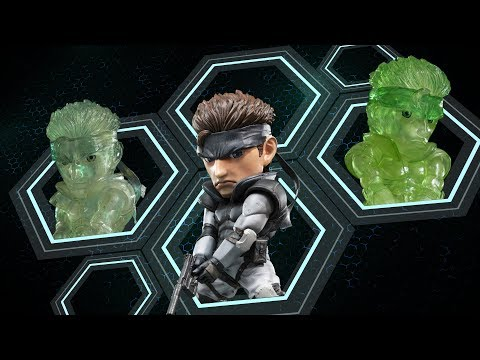 """F4F Presents Metal Gear Solid - Solid Snake SD 8"""" PVC Statue Trailer"""