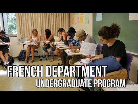 UHM French Department - Undergraduate Program