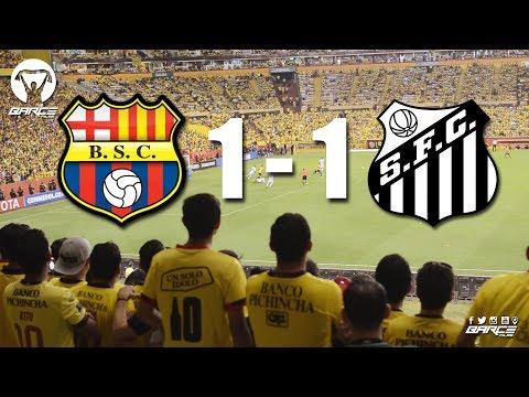 Barcelona 1 vs Santos 1 Partido de Cuartos Conmebol Libertadores 2017