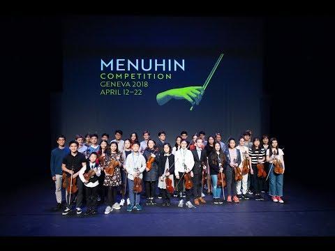 Menuhin Competition Geneva 2018