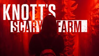 Knott's SCARY Farm 2019: Exploring All The Mazes & Scare Zones!