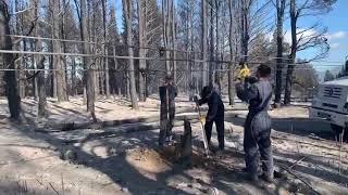 Chubut: Así se encuentran las hectáreas consumidas por el fuego en Epuyén