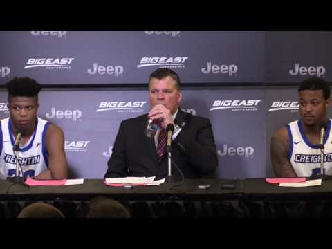 #BEtourney Semifinals Press Conference: Creighton Bluejays