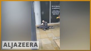 Three stabbed in Manchester attack