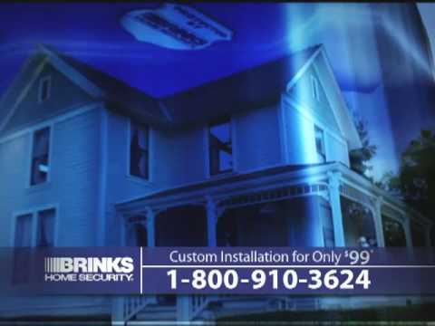 Brink 39 s home security commercial wrong door home for Brinks home security