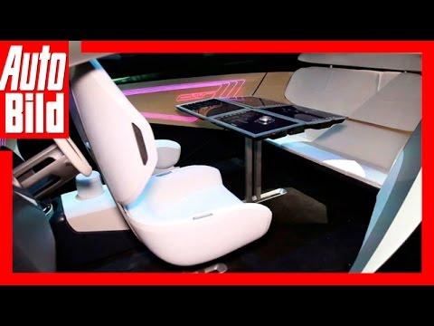 Auto-Vision von Panasonic (CES 2017) / Unterhaltungselektronik zieht ins Auto