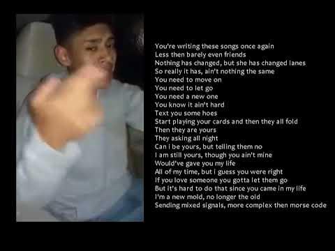 Gotta let them go - Emotional rap about ex with lyrics