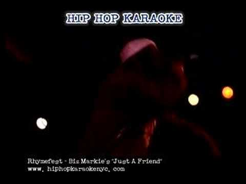 """Hip Hop Karaoke NYC - Rhymefest performs """"Just A Friend"""""""