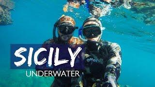 SICILY UNDERWATER  - Scopello and Zingaro Nature Reserve | Sicilian Vibes Ep. 7 | SUB ITA