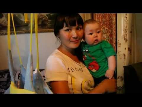 Press team visit family at Burzyansky District, the Republic of Bashkortostan, Russia