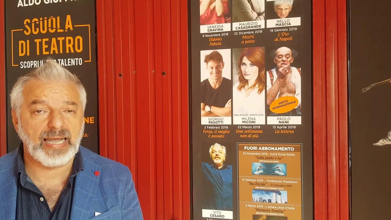 Calendario Teatrale 20182019 Teatro Sociale Aldo Giuffrè