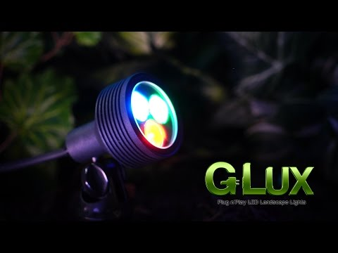 Color Changing RGB LED Landscape Spotlight 6 watt