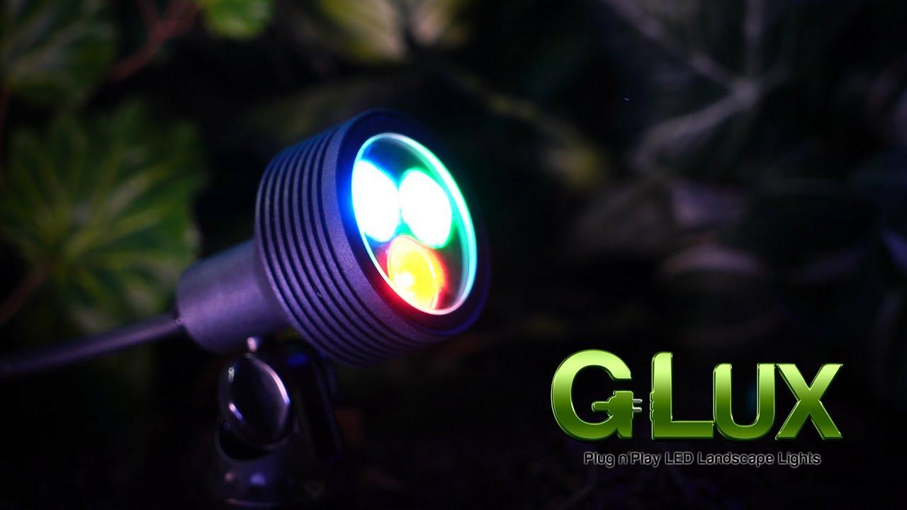 Color Changing Rgb Led Landscape Spotlight 6 Watt