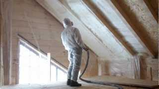 Напыление ППУ(Напыление пенополиуретана, утепление домов, пассивные дома и многое другое - все это мы делаем для Вас. Наш..., 2012-12-11T14:55:59.000Z)