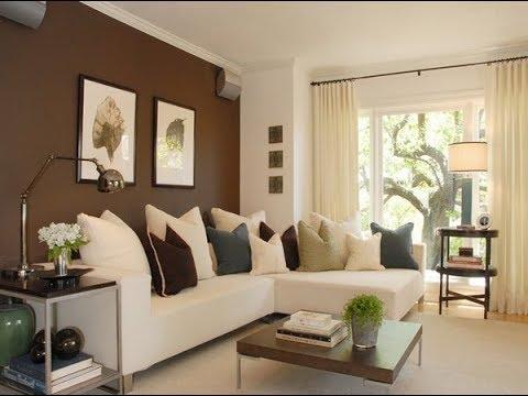 Desain Kombinasi Warna Cat Ruang Tamu Apartemen