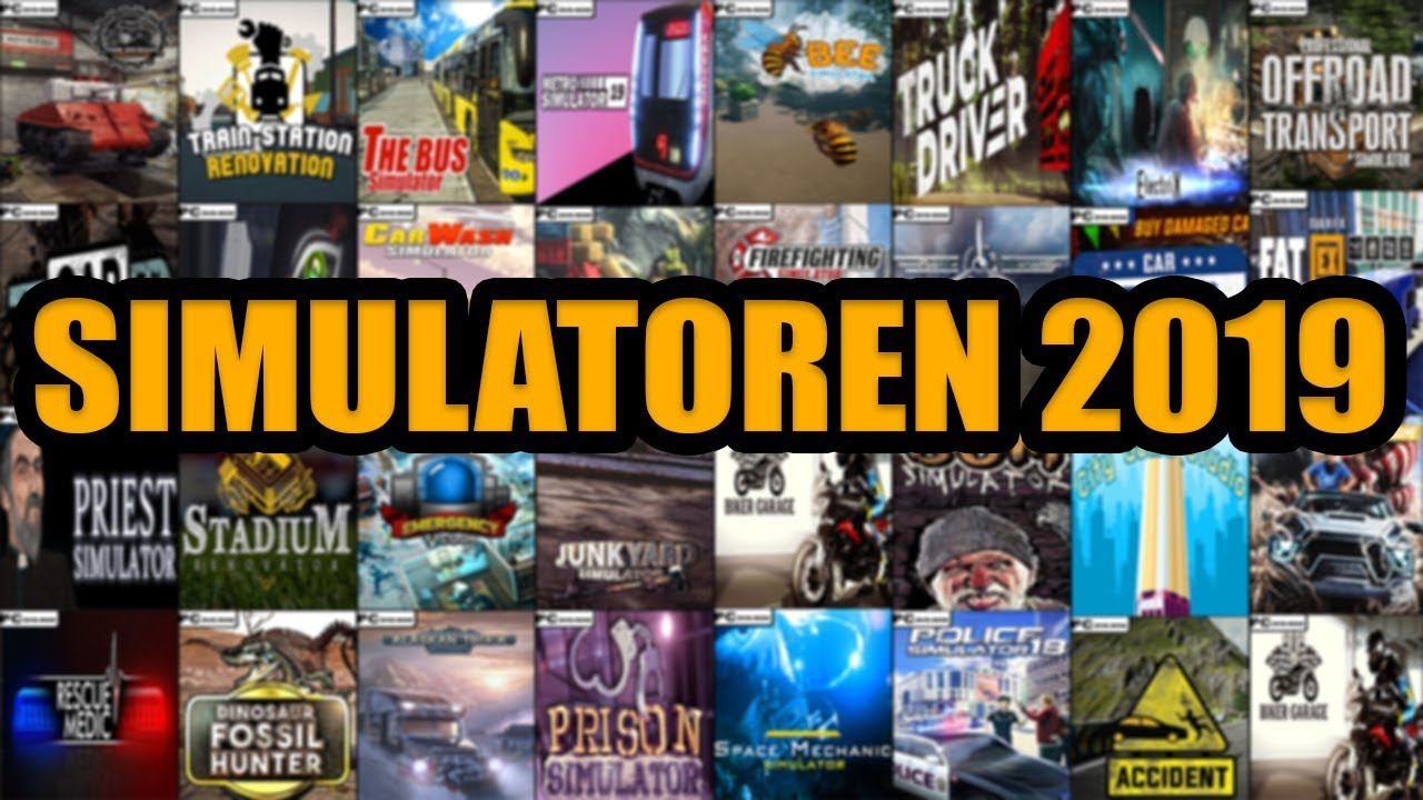 Simulatoren Spiele