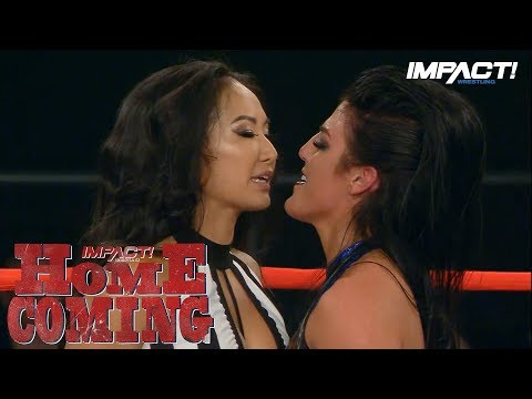 Tessa Blanchard is FURIOUS with Gail Kim! | IMPACT Wrestling Homecoming Highlights