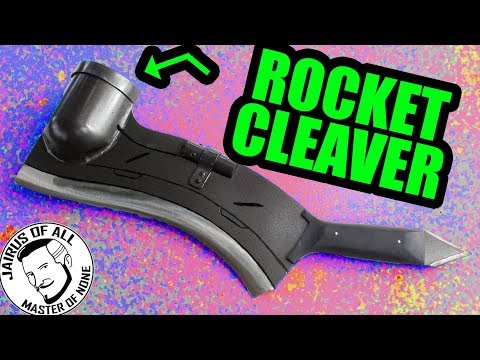 ROCKET POWERED THROWING CLEAVER! - Gundam Hammer Chopper