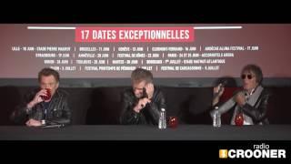 Les Vieilles Canailles, Johnny Hallyday, Eddy et Dutronc en tournée dans toute la France !