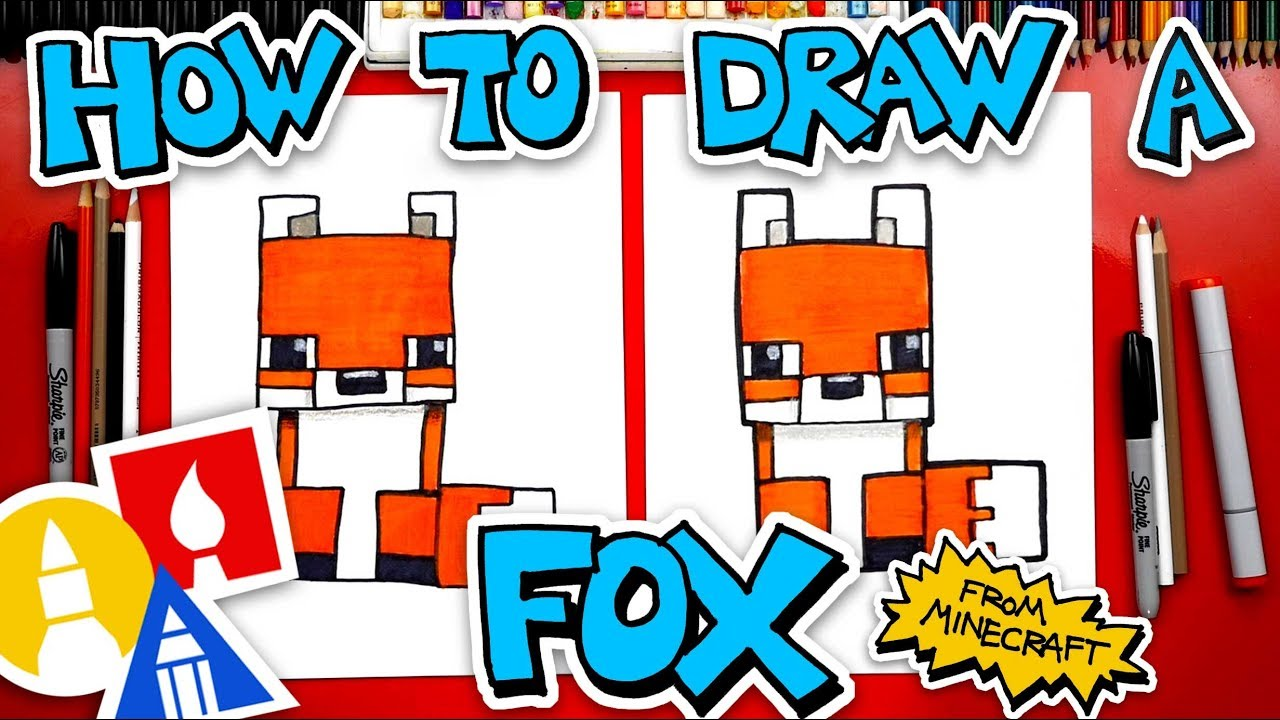 How To Draw A Fox From Minecraft