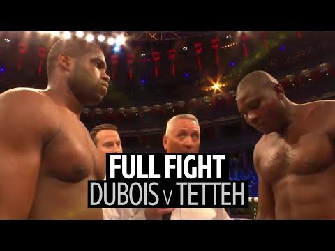 Full fight: Daniel Dubois v Ebenezer Tetteh | Heavyweight Commonwealth title