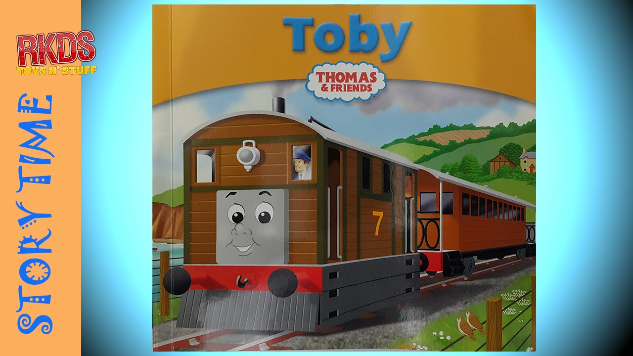 My Thomas Story Library Book 4 Toby Read Out Loud Youtube