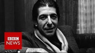 Leonard Cohen   I never thought I could sing  BBC News