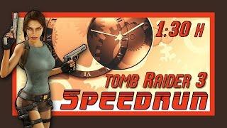 Tomb Raider 3 Any% Speedrun (1:28:50 RTA) (Livestream-Aufzeichnung)