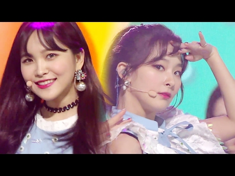 《EXCITING》 Red Velvet (레드벨벳) - Rookie @인기가요 Inkigayo 20170212