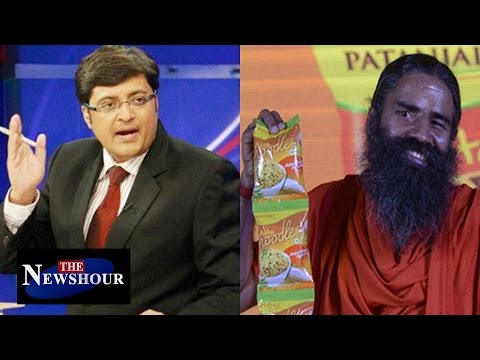 Who Approved Baba Ramdev's Patanjali Maggi? : The Newshour Debate (18th Nov 2015)