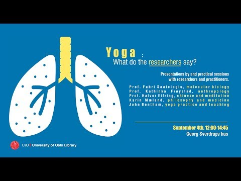 Yoga - What do the researchers say?