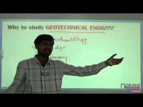 Geotechnical Engineering   Soil Mechanics   GATE Exam