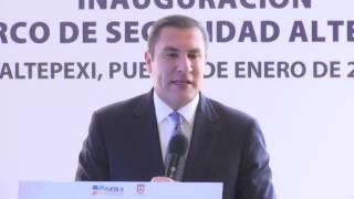 INAUGURA RMV ARCO DE SEGURIDAD EN ALTEPEXI