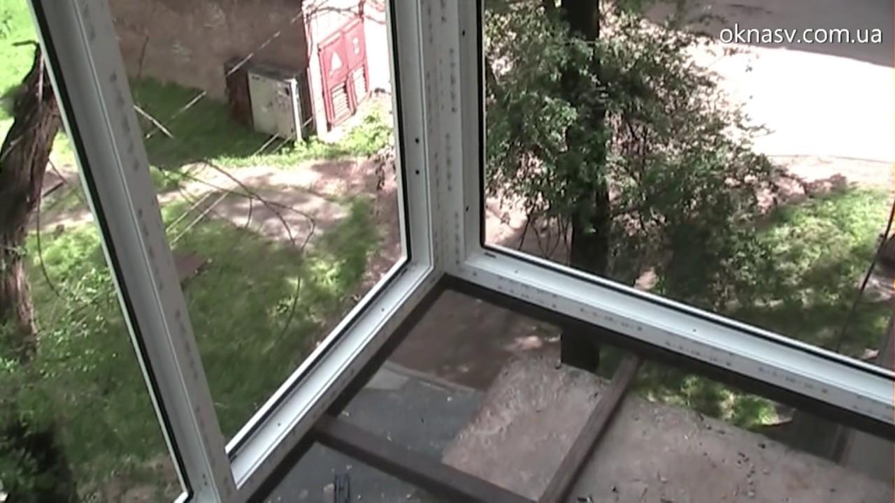 Французский балкон. вынос, расширение. окна rehau. кривой ро.