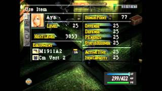 10. Parasite Eve Walkthrough - Day 5 Evolution - Chinatown Sewers
