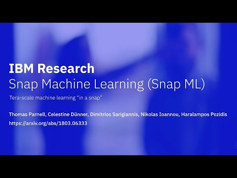 IBM Snap Machine Learning