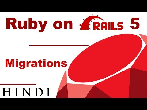 Ruby on Rails 5 Tutorial #6 Migrations