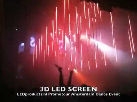 3d led nightclub lighting controlled by madrix professional at amsterdam dance event youtube - Licht nightclub ...
