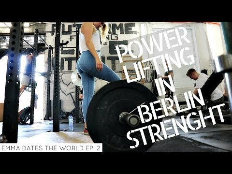 POWERLIFTING IN A VEGAN GYM // Brussels & Berlin Adventures | EDTW Ep. 2