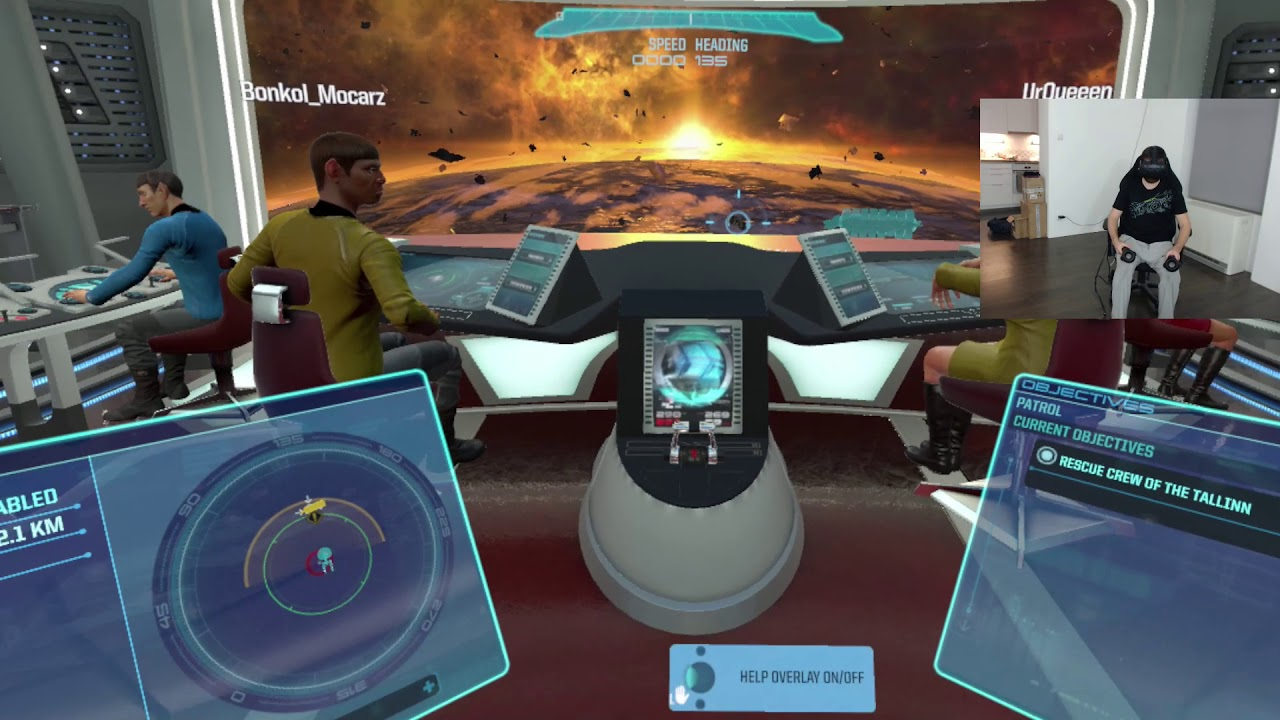 Star Trek: Bridge Crew – HTC VIVE VR z Bonkolem, UrQueeen i Łosiem!