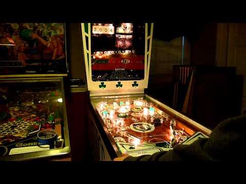 Custom Boston Celtics Pinball Machine