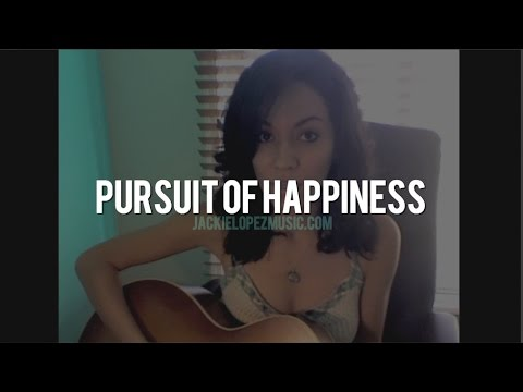 """""""Pursuit Of Happiness"""" -  Kid Cudi Acoustic Cover By Jackie Lopez"""
