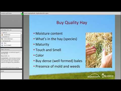 Reducing Hay Waste