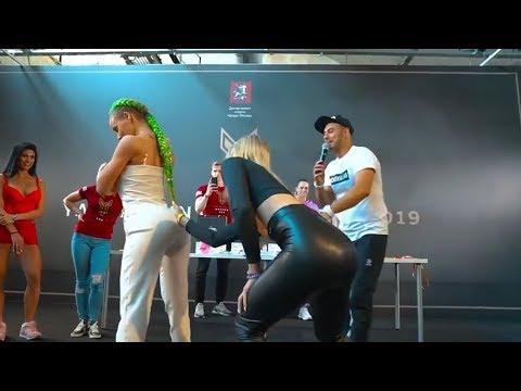 Dünya Tokat Vurma Yarışması ( Bayan Kalça Tokat Atma Yarışması ) Çılgın Ruslar