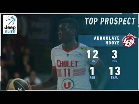 Abdoulaye Ndoye 12PTS, 3AST vs Châlons-Reims | Highlights Jeep® ÉLITE