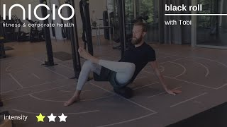 black roll - fascial workout