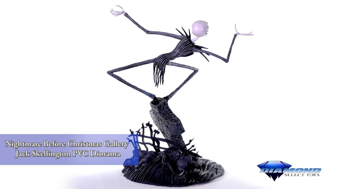Nightmare Before Christmas Gallery Jack Skellington PVC Diorama ...